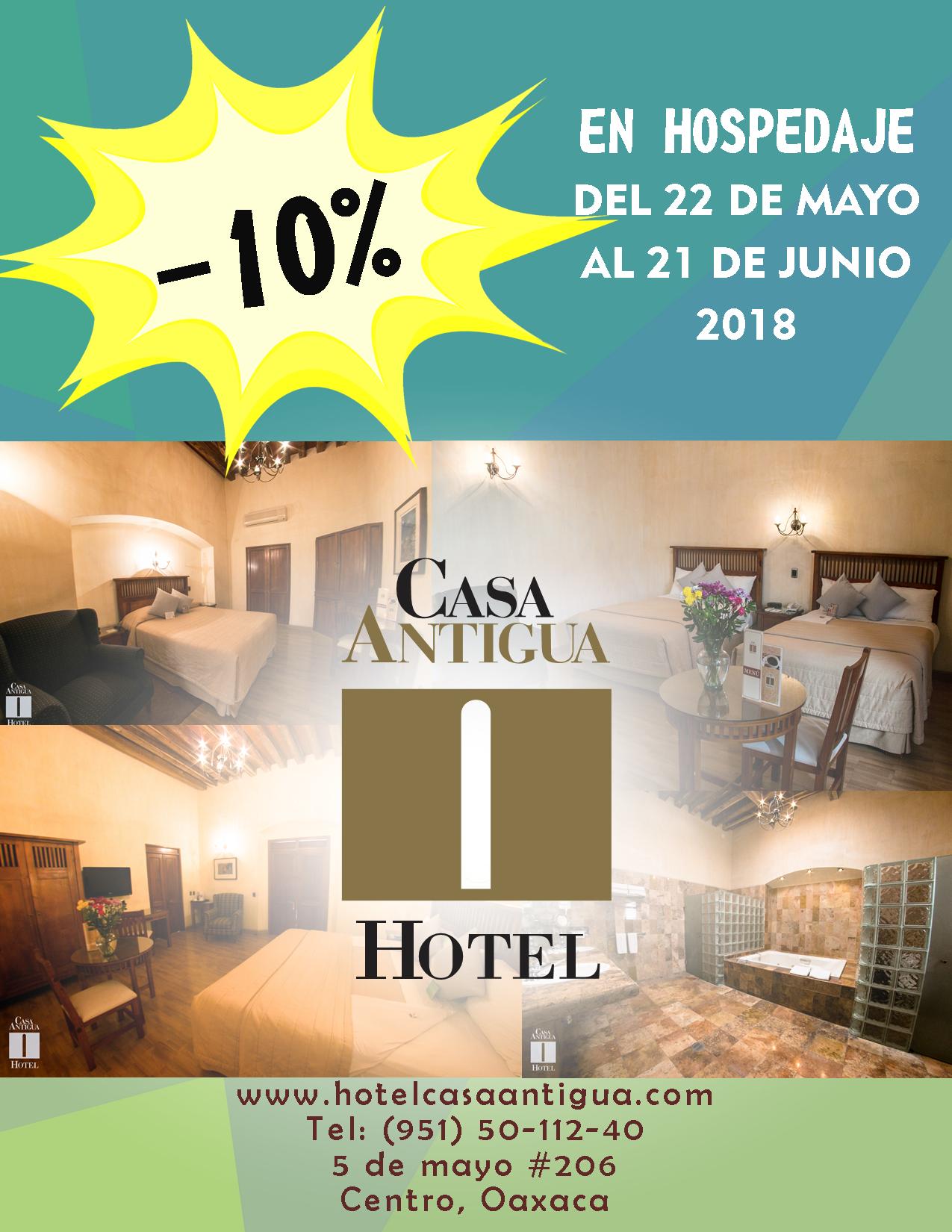 ¡PARA TU VISITA A LA HERMOSA CIUDAD DE OAXACA TE OFRECEMOS EL MEJOR HOTEL!