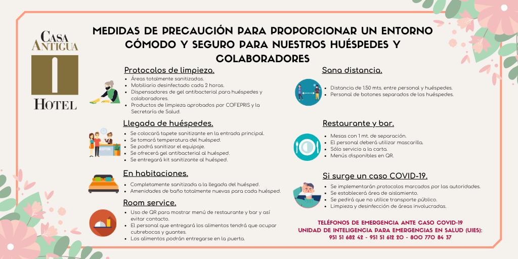 MEDIDAS DE PRECAUCIÓN ANTE EL COVID-19